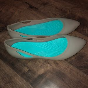 Crocs Clear Flats